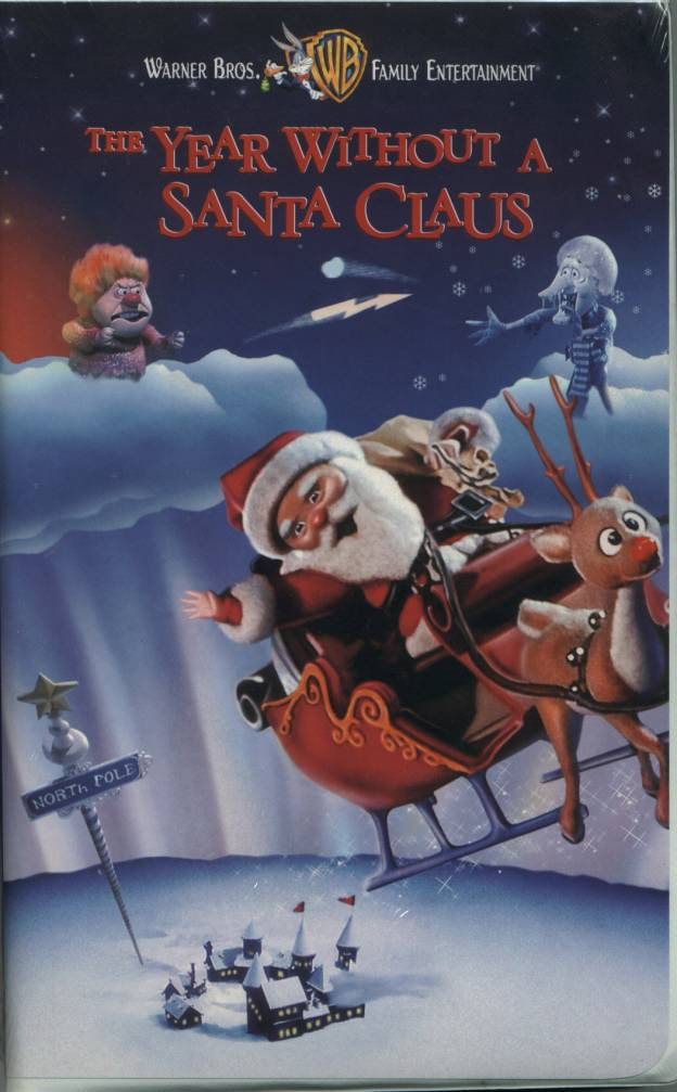 The Year Without A Santa Claus VHS Cover by Warner Bros.