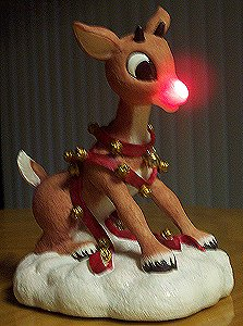 Rudolph With Lighted Nose figurine by Enesco