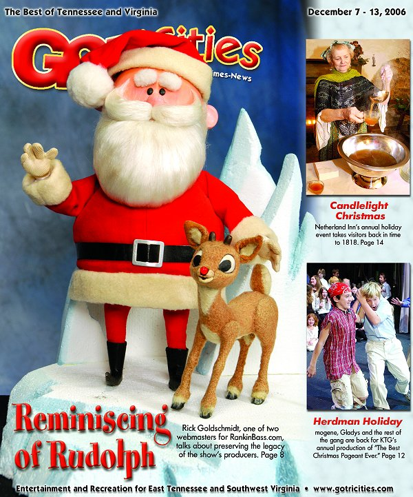 Rudolph And Frostys Christmas In July Dvd.The Enchanted World Of Rankin Bass News